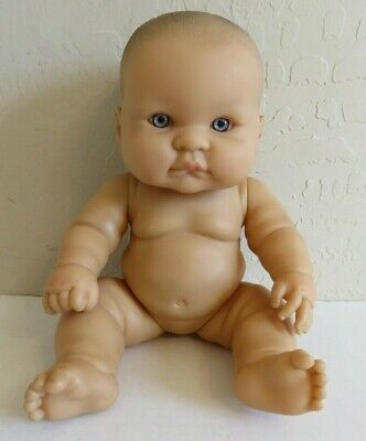 "Berenguer Lots To Love Baby Reborn Doll Real Boy 13"" Blue Eyes"