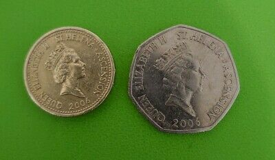 Coins From St Helena  , The Island Where Napoleon Bonaparte Was Exile In 1815