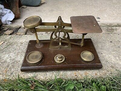 Antique Weighing Scales Weights