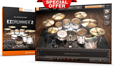 EZdrummer 2 Toontrack LifeTime ✅5 device ✅Instant Delivery ✅ For Windows
