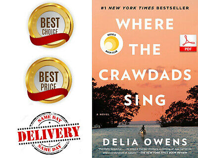 Where The Crawdads Sing by Delia Owens {P_D_F}