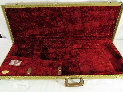 Fender Tweed Hardshell Guitar Case Fender RI Stratocaster Telecaster Guitar Case