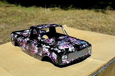 New Chevrolet C-10 Body Shell For Traxxas Stampede / Stampede Vxl / 4X4 / 2Wd