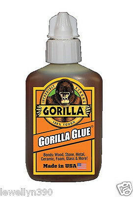 Original Incredibly Strong GORILLA GLUE 2oz bottle NEW!