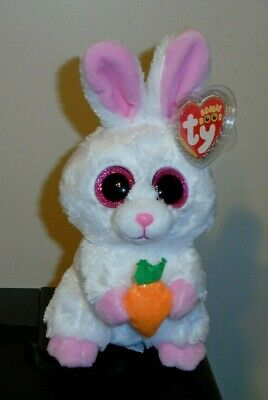 """Ty Beanie Boos BRUNCH the Bunny /& MEGG the Chick Walgreen/'s Exclusives 6/"""" MWMT"""