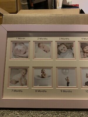 1 Month to 1 Year Baby Picture Frame