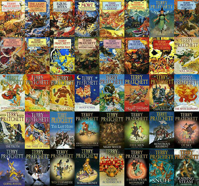 The DISCWORLD Series By Terry Pratchett 41( audiobook - book ) 📧 Email Delivery