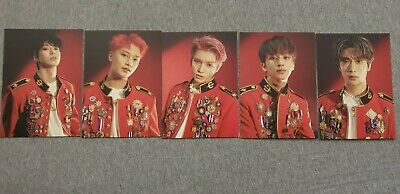 NCT 127 NEO ZONE: The Final Round (PUNCH) Official Postcards