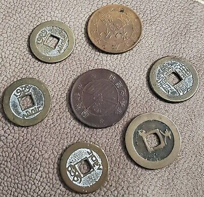 Old chinese Coins Collection