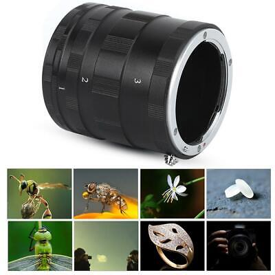 DSLR Macro Lens Ring Close-Up Shooting Extension Adapter Fit for Nikon  Mount