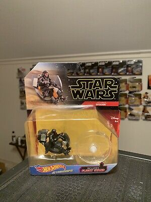 Hot Wheels Star Wars - Starships - Darth Maul's Speeder * New Unopened CLEAN