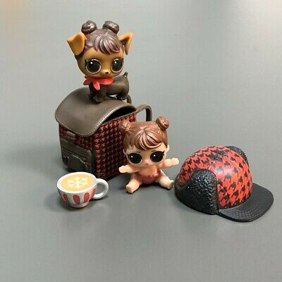 Real LOL Surprise Dolls Lil BABE IN THE WOOD & Pet with bag & Cap boy girl toys