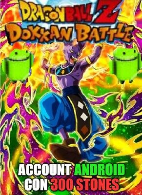 Dokkan Battle Global with 1000 stones Android with Goku Ultra Istinct LR