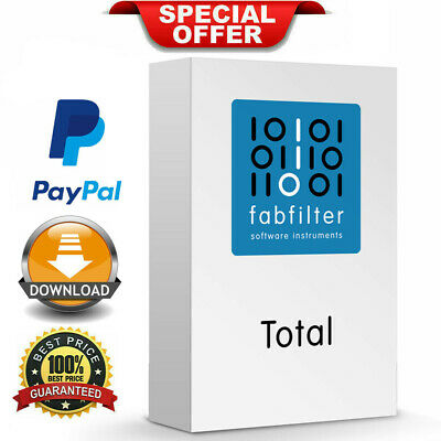 FabFilter Total Bundle v2019 all Plugins VST/VST3🔥WIN & MAC🔥INSTANT DELIVERY🔥