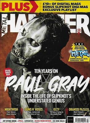 METAL HAMMER Magazine-No.336 (NEW)*Post included to UK/Europe/USA/Canada