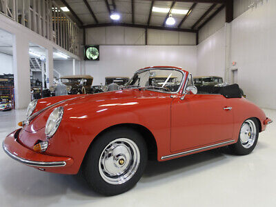 1963 Porsche 356 B Carrera 2 GS Cabriolet   Concours restoration 1963 Porsche 356 B Carrera 2 GS Cabriolet   64,971 miles, known history from new