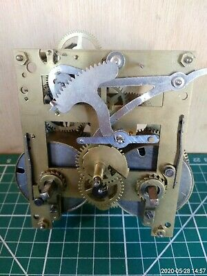 Antique Clock Movement kieninger Spares or Repair