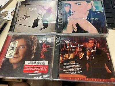 4- Barry Manilow Cd's