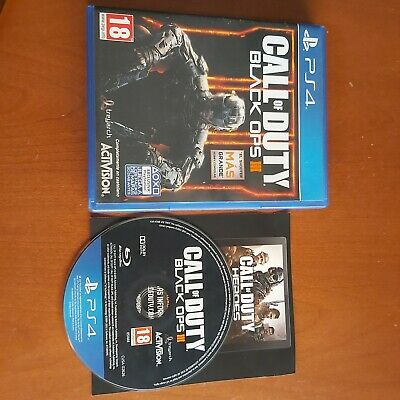 Juego PS4 Call of Duty Black ops lll