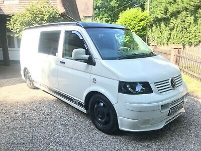 ***Volkswagen Transporter T5 Camper - Fully Converted - Tailgate - Air Con***