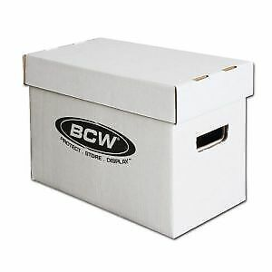 1 - BCW Short Comic Book Storage Box / Bin