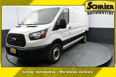 2019 Ford Transit Connect  2019 Ford Transit-250 Base 25,342 Miles Oxford White 3D Medium Roof Cargo Van 3.