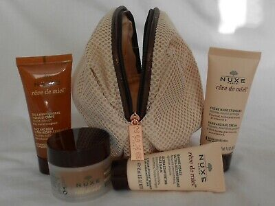 NUXE, reve de miel,exclusives Reiseset mit Tasche, (dry and sensitive skin), NEU