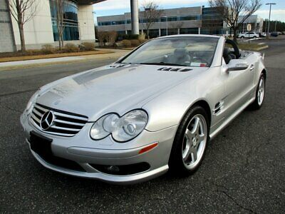 2003 SL-Class SL 500 2003 Mercedes-Benz SL 500 Convertible Sport Package Low Miles Stunning Car