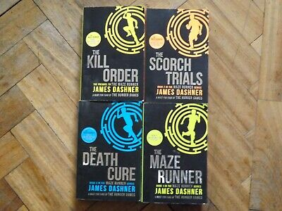 The Maze Runner Series 4 Books Set Collection By James Dashner