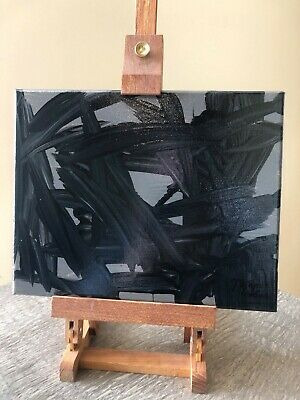 """Thoughts of Depression"" Original Abstract Art by Artist Megan Truelove, Signed"