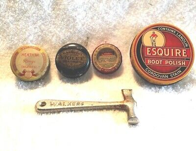 Vintage Advertising Tins Toffee Hammer Esquire Garwood's Mints Walker's Hammer