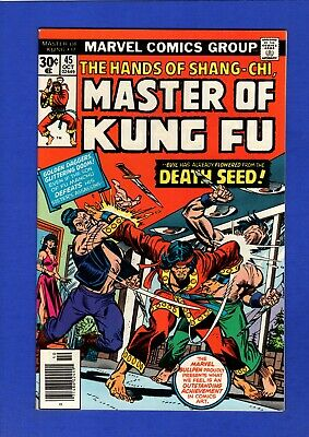 Master Of Kung-Fu #45 Glossy Nm 9.4/9.6 High Grade Bronze Age Marvel