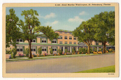 St. Petersburg Florida c1930's Hotel Martha Washington