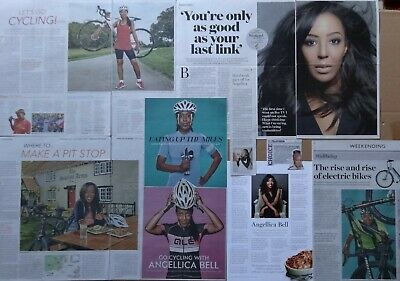 Angellica Bell - clippings/cuttings/articles