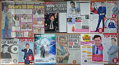 Brian Dowling - clippings/cuttings/articles pack -  Celebrity Big Brother