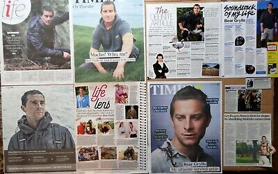 Bear Grylls - clippings/cuttings/articles