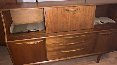 Jentique Sideboard Retro Vintage Teak Mid Century Danish Highboard  Macintosh