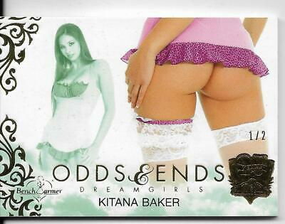 2019 Benchwarmer 25 Years Kitana Baker Odds & Ends Butt Card /2