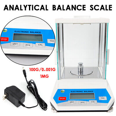 Precision Analytical Scale 100g x 0.001g Digital Balance Counting Scale For Lab