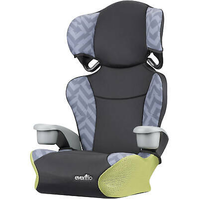 Big Kid Sport High Back Booster Car Seat, Goody Two Tones