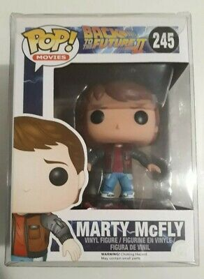 Funko Pop! Movies: Back to the Future - Marty McFly with overboard mint 💎