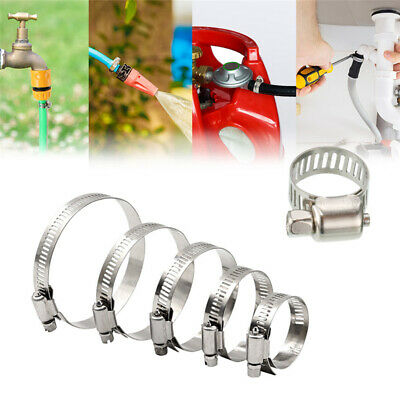 Stainless Steel Hose Clips Jubilee Equiv Clamp Tubing Clip Clamps