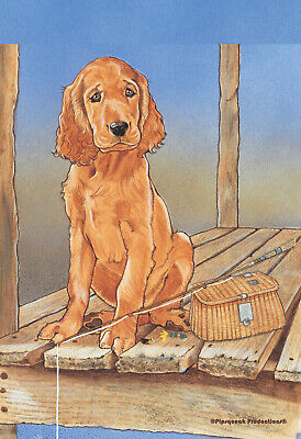 Pipsqueak House Flag - Irish Setter 49890