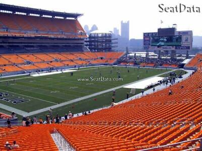 6 Steelers vs Cincinnati Bengals Heinz Field Lower Level Mobile Tickets!!