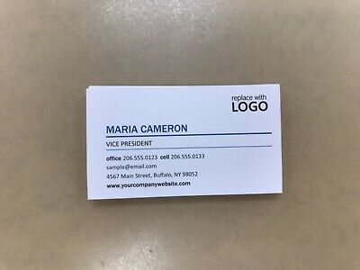 Custom Full Color - Heavy Weight Business Cards 200 Cards