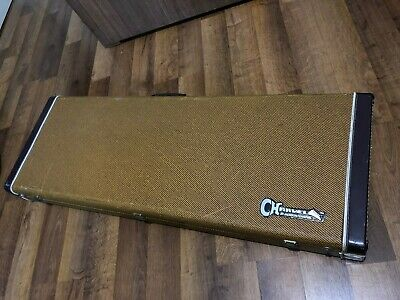 1980's Charvel Jackson Import Model Series Soloist Tweed Hardshell Guitar Case
