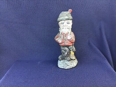 Vintage Garden Gnome Ornament Nicely Weathered