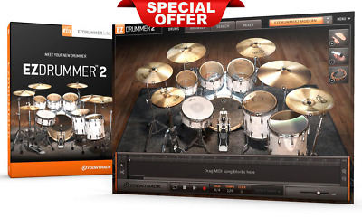 EZdrummer 2 Toontrack LifeTime ✅ Instant Delivery ✅ For Windows Make Music Vst ✅