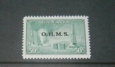 CANADA GEORGE VI OFFICIAL 50c FINE MINT STAMP