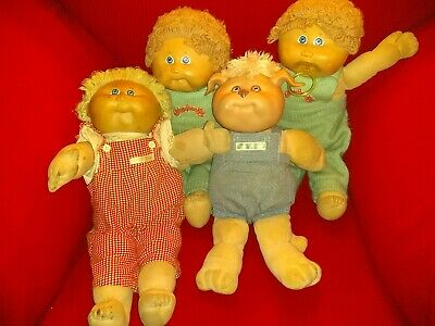 Cabbage Patch Kids Dolls Lot Of 4